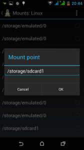mount-sdcard